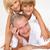 abuelo · jugando · nietos · casa · feliz · nino - foto stock © monkey_business