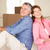 senior couple in new home stock photo © monkey_business