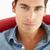 肖像 · 若い男 · 座って · オフィス · 作業 - ストックフォト © monkey_business