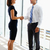 businessman and businesswomen shaking hands in office stock photo © monkey_business
