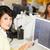 femme · numérique · comprimé · occupés · Creative · bureau - photo stock © monkey_business