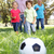 grandparents playing football with grandchilderen stock photo © monkey_business