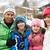 kobieta · śnieżna · kula · ciepły · ubrania · narciarskie - zdjęcia stock © monkey_business