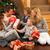 ajándékok · portré · boldog · testvérek · karácsony · otthon - stock fotó © monkey_business