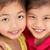 studio shot of two chinese girls stock photo © monkey_business