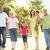 расширенной · семьи · группа · ходьбы · семьи · улыбка - Сток-фото © monkey_business