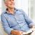 старший · человека · расслабляющая · Председатель · домой · чтение - Сток-фото © monkey_business