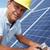 Man installing solar panels stock photo © monkey_business