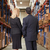 rear view of businesswoman and businessman in warehouse stock photo © monkey_business