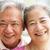 portré · kettő · idős · ázsiai · nők · néz - stock fotó © monkey_business