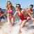 feliz · casal · óculos · de · sol · praia · quadro · mulher - foto stock © monkey_business
