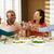 paar · praten · diner · glimlachend · volwassen · samen - stockfoto © monkey_business