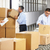 workers checking goods on belt in distribution warehouse stock photo © monkey_business