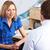 医師 · リスニング · 患者 · シニア · オフィス · 笑みを浮かべて - ストックフォト © monkey_business