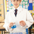 male teenage student in science class with experiment stock photo © monkey_business