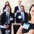 презентация · бизнеса · люди · отмечает · стороны · заседание - Сток-фото © monkey_business