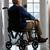 печально · старший · человека · сидят · коляске · медицинской - Сток-фото © monkey_business