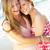 2 · 女性 · 友達 · ビーチ · 海 - ストックフォト © monkey_business