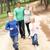 pai · crianças · andar · parque · mulher - foto stock © monkey_business