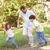 father and children enjoying walk in park stock photo © monkey_business