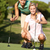 due · femminile · campo · da · golf · up · verde · donna - foto d'archivio © monkey_business