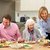 multi generation family sharing meal together stock photo © monkey_business