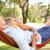 senior couple relaxing in hammock stock photo © monkey_business