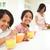 家族 · 母親 · 朝食 · 学校 · 子供 - ストックフォト © monkey_business