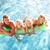 família · grande · fora · relaxante · piscina · mulher · família - foto stock © monkey_business