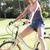 mulher · ciclo · exercer · bicicleta · pessoa - foto stock © monkey_business