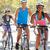 groep · fietsers · voorstads- · straat · weg · vrouwen - stockfoto © monkey_business