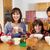 famille · manger · déjeuner · ensemble · cuisine · fille - photo stock © monkey_business