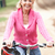 senior · mulher · equitação · bicicleta · parque · feliz - foto stock © monkey_business