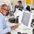 człowiek · cyfrowe · tabletka · zajęty · twórczej · biuro - zdjęcia stock © monkey_business