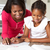 mother helping daughter with homework in kitchen stock photo © monkey_business