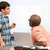 nauczyciel · pomoc · mężczyzna · studia · biurko · klasie - zdjęcia stock © monkey_business