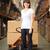 zakenvrouw · vrouwelijke · werknemer · distributie · magazijn · vrouw - stockfoto © monkey_business