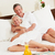 ontspannen · samen · bed · vrouwen · sexy - stockfoto © monkey_business