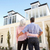 senior couple standing outside dream home stock photo © monkey_business