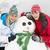 Winter · Porträt · Freunde · Skifahren · glückliche · Menschen · Gruppe - stock foto © monkey_business