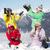 bambini · palla · di · neve · lotta · ragazzi · divertimento · adolescente - foto d'archivio © monkey_business