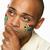 молодые · мужчины · спортивных · вентилятор · флаг · окрашенный - Сток-фото © monkey_business