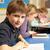 школьник · чтение · книга · класс · школы · классе - Сток-фото © monkey_business