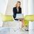 女性実業家 · 作業 · ノートパソコン · 表 · 現代 · オフィス - ストックフォト © monkey_business