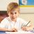 écolier · étudier · classe · étudiant · bureau · garçon - photo stock © monkey_business