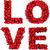 слово · любви · красный · сердце · 3D · 3d · визуализации - Сток-фото © montego