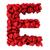 e letter made of little hearts stock photo © montego