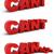 desafiar · 3D · palabra · problema · objetivo · rojo - foto stock © montego