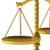 3d · render · balança · modelo · fundo · metal · justiça - foto stock © montego