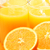 Composition with two glasses of orange juice and fruits stock photo © monticelllo
